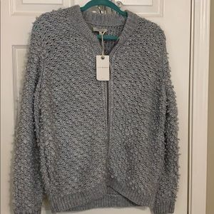 Lucky Zip Front Sweater NWT | 1X